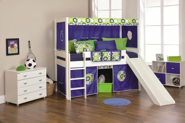 moderne-Kinderbetten-mit-Rutsche-Idee