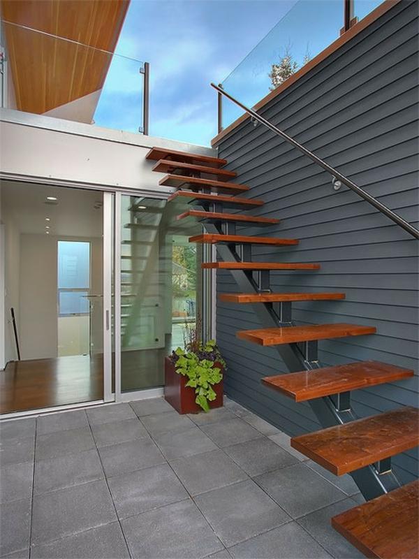 46 wundersch ne designideen f r au entreppe. Black Bedroom Furniture Sets. Home Design Ideas