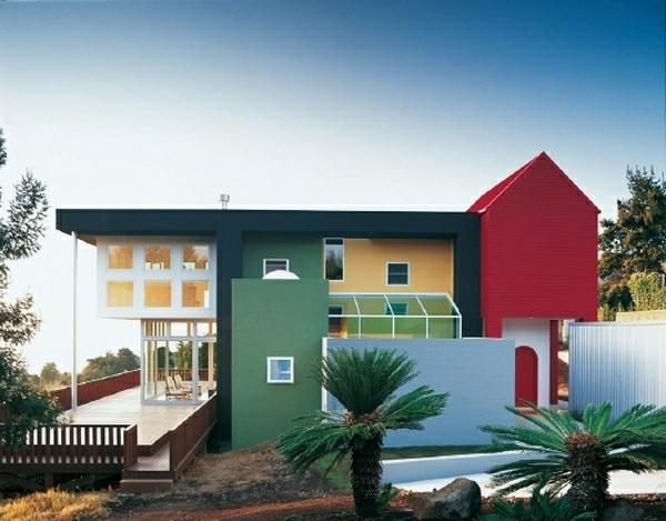 moderne-außenarchitektur - schönes design