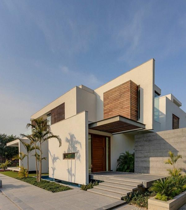 moderne-hölzerne-Vordächer-Design