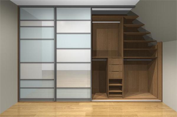 schr nke f r dachschr ge 25 coole modelle. Black Bedroom Furniture Sets. Home Design Ideas