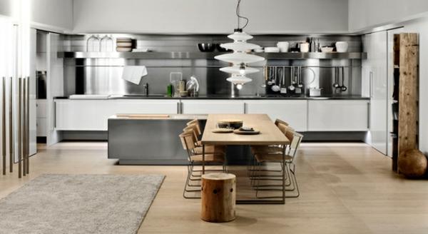 esszimmer : moderne küche mit esszimmer moderne küche mit, Hause ideen