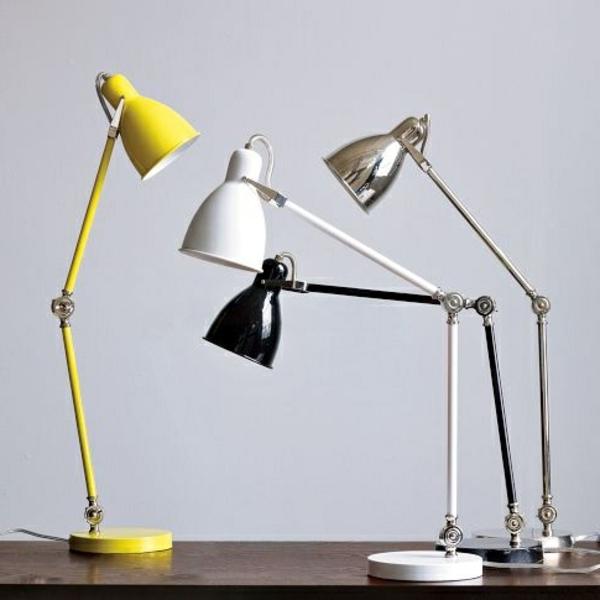 moderne-praktische-Schreibtischampen.verschiedener-Farben-Ideen