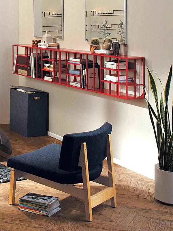 moderne-schmale-regale-fürs-wohnzimmer