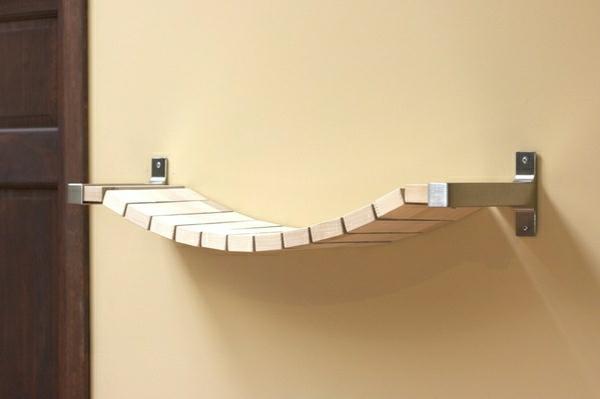 Modernes Und Kreatives Bücherregal Design