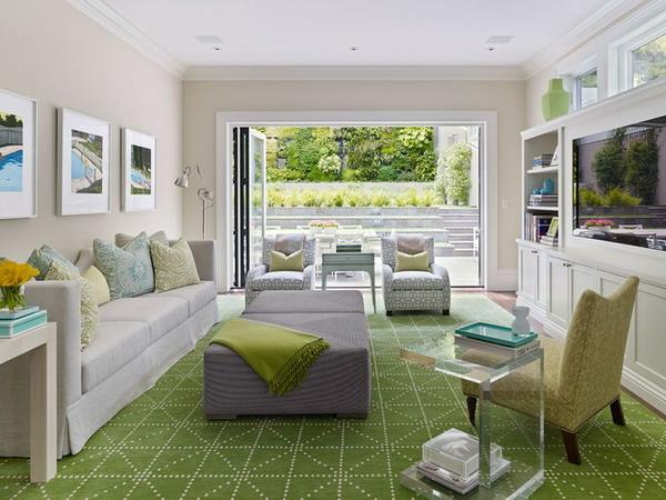 modernes--wohnzimmer--grüner-toller-teppich