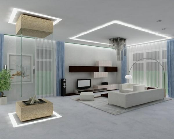Wohnzimmer in Weiß - 33 geniale Ideen! - Archzine.net