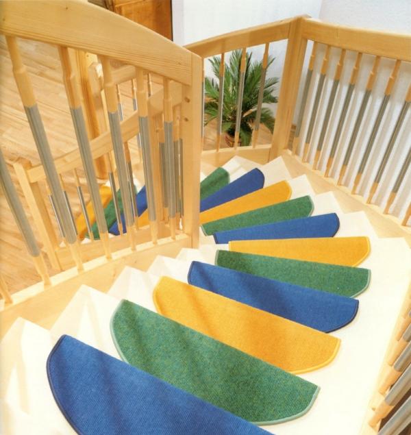 Tolle ideen für stufenmatten für ihre treppen!   archzine.net