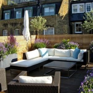 Eine Dachterrasse gestalten - neue fantastische Ideen