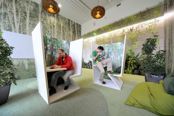 originelle-büroräume-einmalig-aussehen - moderne gestaltung