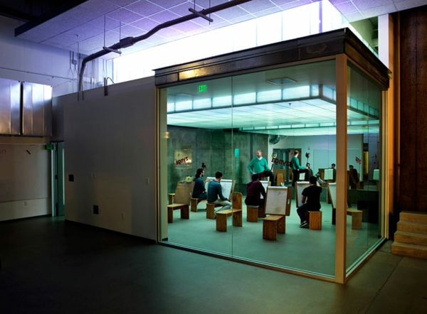 originelle-büroräume-glaswände - super aussehen