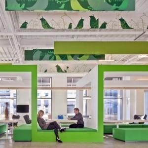 Unglaubliche Büroräume - 55 atemberaubende Bilder!