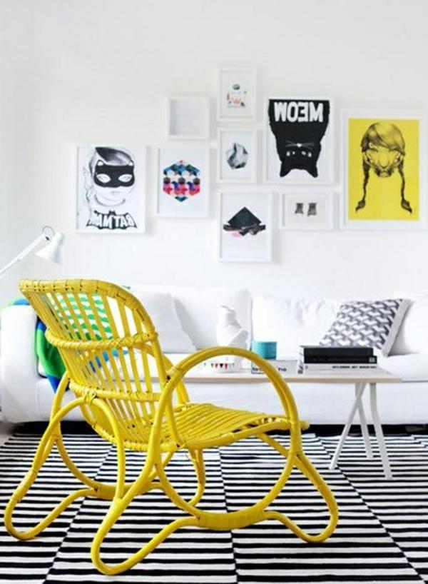 toller-origineller-Stuhl-in-gelber-Farbe