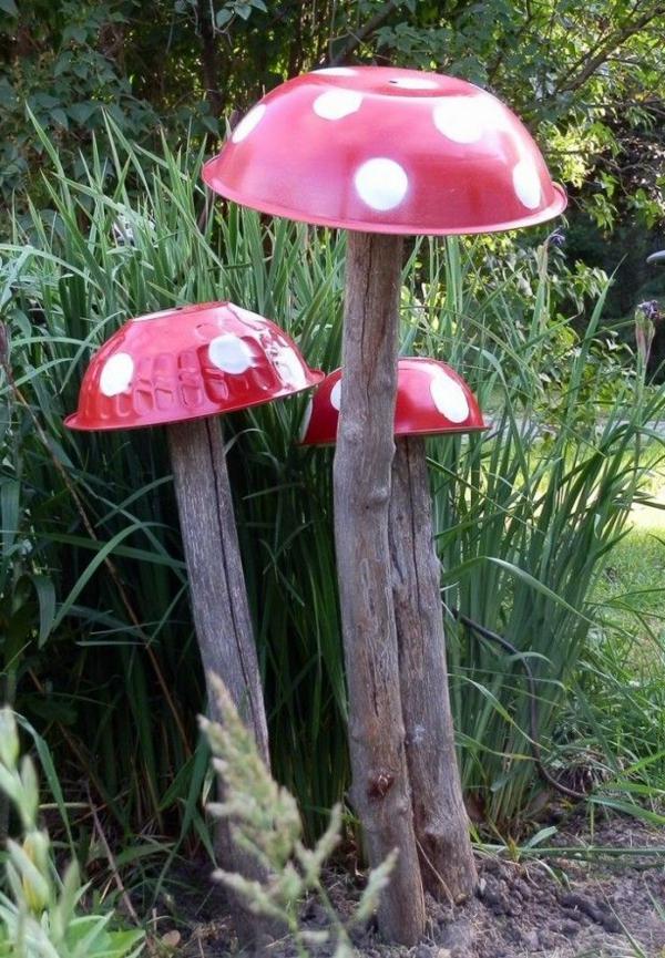 pilzen-Originelle-Garten-Dekoration-Idee