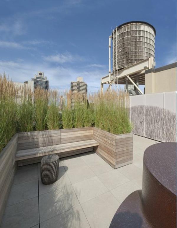 praktische-Exterior-Design-Idee-Dachterrasse