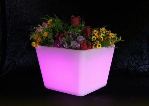 rosa-Blumentöpfe-Design-Idee-Dekoration