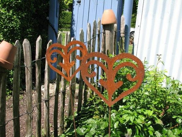 Gartenzelt Deko : Gartendeko aus rost coole beispiele