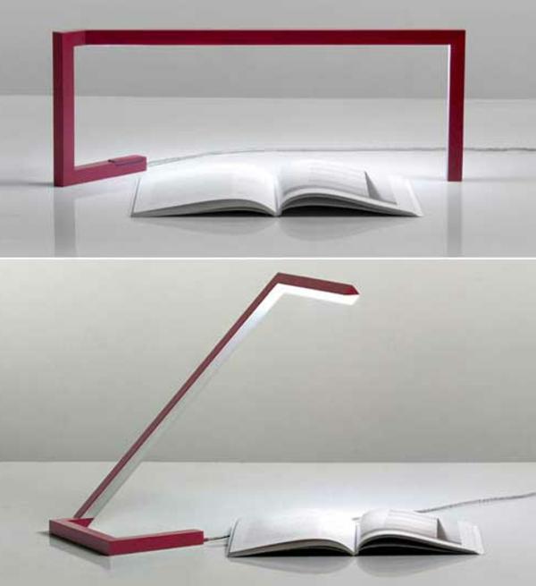rote-Schreibtischlampe-mit-kreativem-Design-Idee