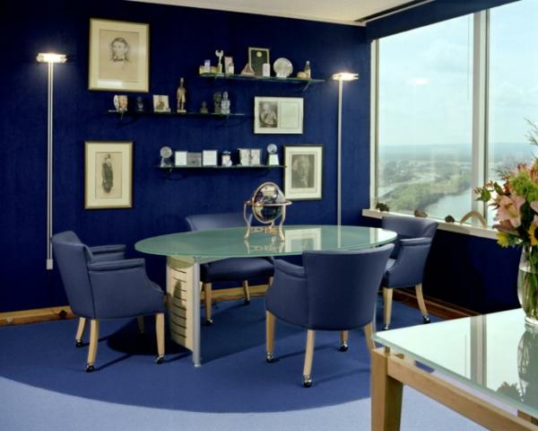 schöne-runde-Teppiche-in-Blau-blaue-Teppiche