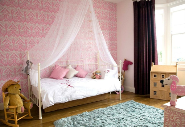 baldachin bett im babyzimmer 27 geniale ideen. Black Bedroom Furniture Sets. Home Design Ideas
