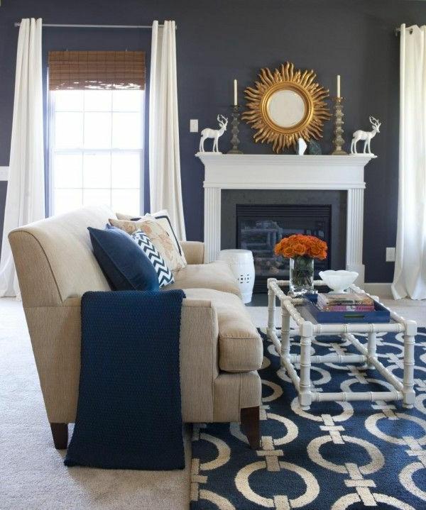 schöne-Blaue-Teppiche-Muster