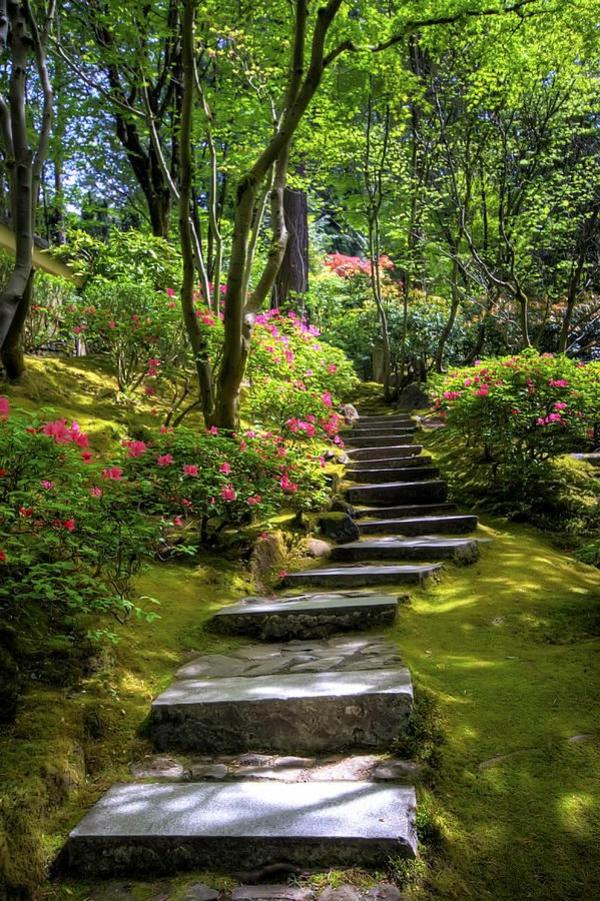 schöne-Gartentreppen-Design-Idee