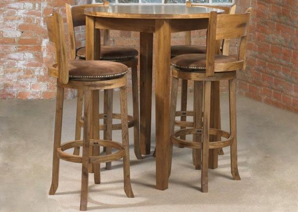 Bartisch Set Holz : bartisch aus holz effektvoll und klassisch ~ Indierocktalk.com Haus und Dekorationen