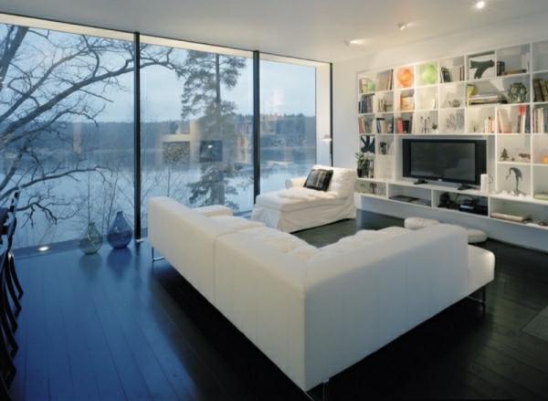 Wohnzimmer in Weiß - 33 geniale Ideen!