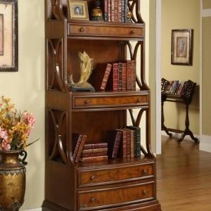 Bücherregal aus Massivholz für ein gemütliches Ambiente!