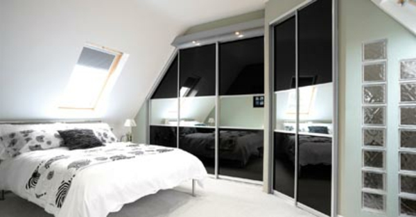 schlafzimmer ideen wandgestaltung dachschr ge. Black Bedroom Furniture Sets. Home Design Ideas