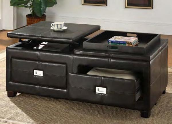 schwarzer couchtisch 27 unglaubliche modelle. Black Bedroom Furniture Sets. Home Design Ideas