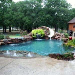 einige interessante bauarten von schwimmbecken - archzine, Hause und garten