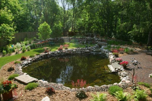 28 wundersch ne schwimmteich bilder for Garten randgestaltung
