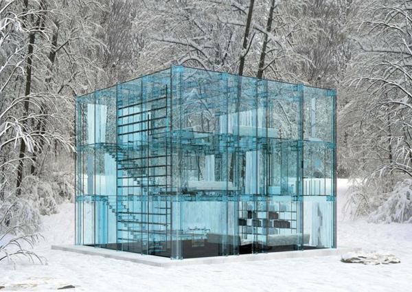 Glashaus erstaunliche fotos - Architektur kubus ...