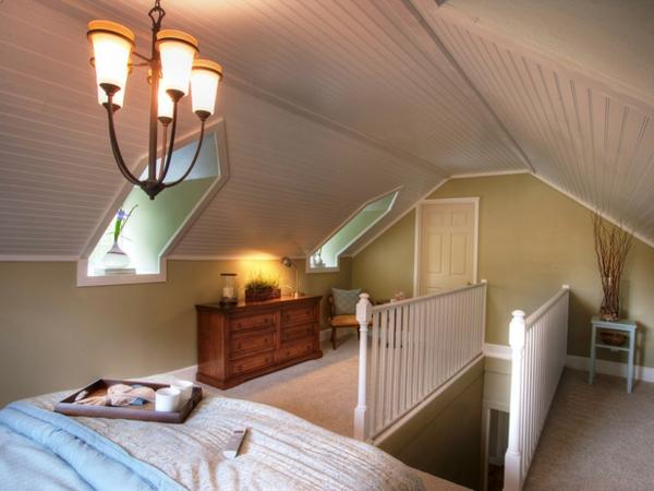 Schlafzimmer im Dachgeschoss - 25 coole Designs!