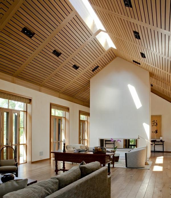 Zimmerdecken Gestaltung zimmerdecken ideen fürs wohnzimmer 53 prima fotos archzine