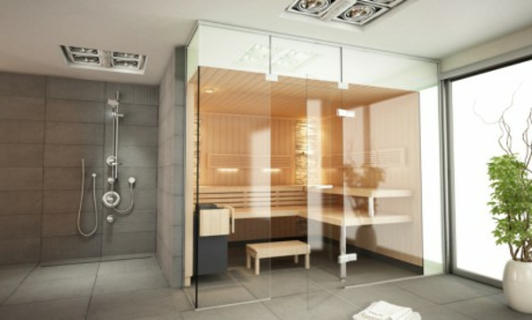 Sauna Ideen Bad - Wohndesign