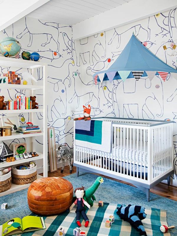 super-schöne-Babyzimmer-Dekoration-im-Hause