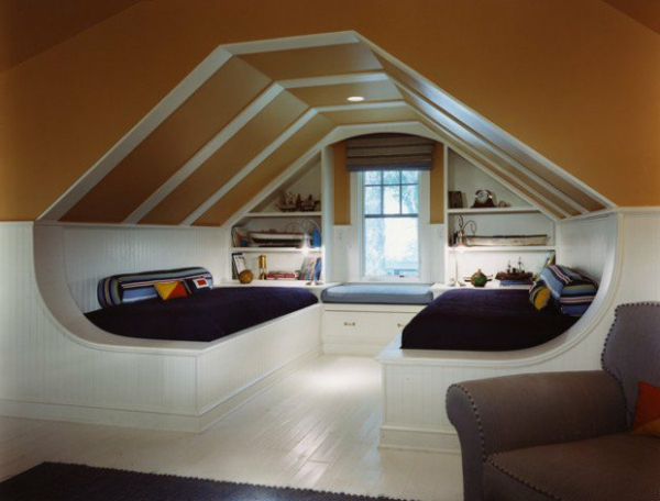 Schlafzimmer im dachgeschoss 25 coole designs for Room roof design images