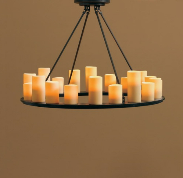 kronleuchter mit kerzen 29 verbl ffende modelle. Black Bedroom Furniture Sets. Home Design Ideas