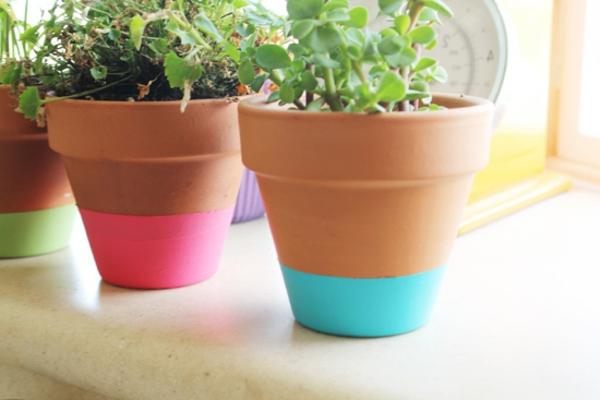 toll-verzierte-Blumentöpfe-Idee-für-Dekoration