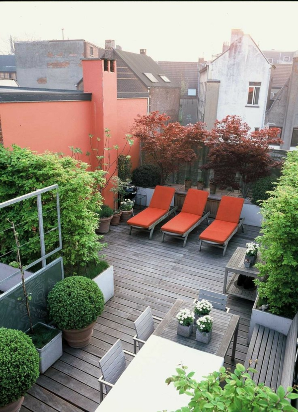 Eine Dachterrasse Gestalten - Neue Fantastische Ideen - Archzine.net Moderne Gestaltung Der Dachterrasse