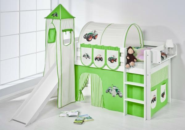 traumhaftes-Kinderbett-mit-Rutsche
