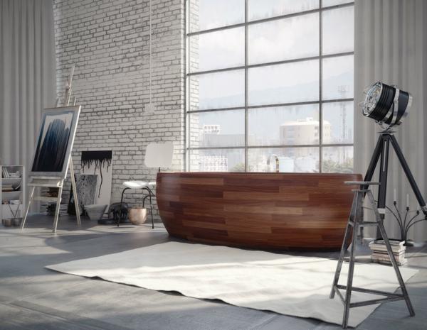 ultra-modernen-Badewannen-aus-Holz-Design-Idee