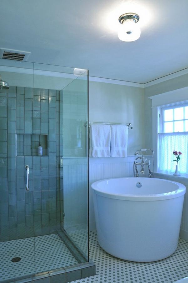 Master Bathroom Remodel Corner Tub