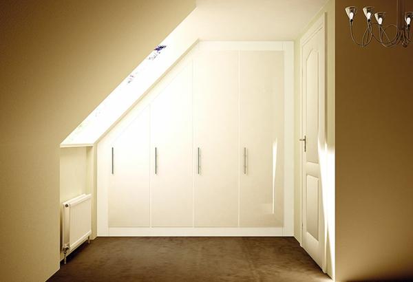 weiße-schränke-für-dachschräge