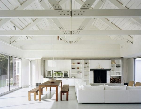 Wohnideen Wohnzimmer Hohe Decken zimmerdecken ideen fürs wohnzimmer 53 prima fotos archzine