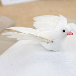 Die weiße Taube als Dekoartikel - 24 Bilder