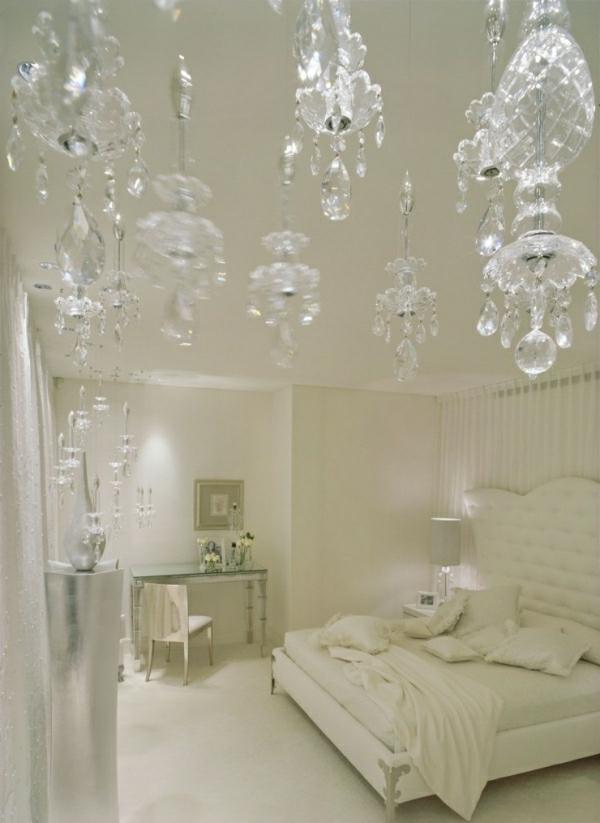 Wohnideen für Schlafzimmer in Weiß - 25 prima Bilder!