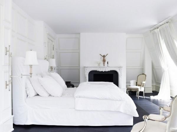 Wohnideen F R Schlafzimmer In Wei 25 Prima Bilder